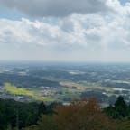 宇都宮:多気山 少し曇ってましたが、頂上からのいい景色。 帰りは足がプルプルしました。