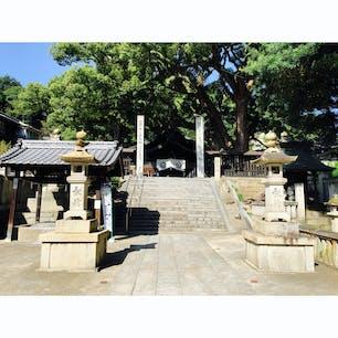 尾道にある艮神社  賑やかな場所も良いけど、こういった趣のある場所も良いと思う