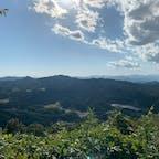 栃木県  羽黒山 頂上からの景色です