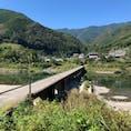 高知県 片岡沈下橋