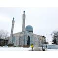 【🇷🇺ロシア/サンクト=ペテルブルク】 モスク ロシア最大のモスク。 ブハラの首長への敬意として建てられたらしい。 見た目は、サマルカンドのグリ・アミール廟に似てる。 #ロシア #サンクトペテルブルク #モスク #イスラム建築 #サマルカンド #グリ・アミール