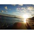 2016.8.31 鎌倉 七里ヶ浜  女子旅で⛵️ 都会では見られない幻想的な海の風景に感動。  #鎌倉 #湘南 #七里ヶ浜