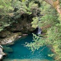 高知県の仁淀川、美しい川!