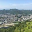 岐阜城からの景色 狭いけど360°👀🌱