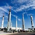 フロリダのケネデイ宇宙センター さすがアメリカ。宇宙をテーマにしたアミューズメントパークのような造り。一日中楽しめます。 #フロリダ #オーランド #ケネデイ宇宙センター #宇宙 #スペースシャトル