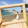 沖縄 うるま市 海中道路 道路を走っていると、右も左も海🏖