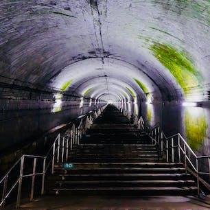 [2018/07] 群馬県、JR土合駅。 日本一のモグラ駅がキャッチフレーズ。 実際に足を運んでみると、驚愕することばかり。 まず本当に深い!そしてトンネルが大きい!これが本当にJRの駅かと感動しました...。