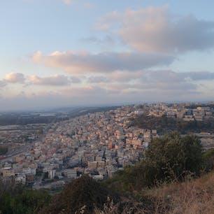 イスラエル内のアラブ人居住区域