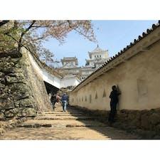 【兵庫県】 姫路城 はの門 △△△