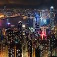 🇭🇰香港 Victoria Peak 写真は数枚で充分。 あとはひたすら目に焼き付ける! 弾丸旅はトラムには乗らない選択が◎。