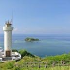 沖縄県石垣島 平久保崎 石垣島の最北東部、右手には太平洋、左手には東シナ海の絶景が広がります✨