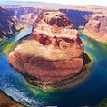 🇺🇸Grand Canyon Horseshoe Bend 馬の蹄のように川が流れてる。 グランドキャニオンは本当に百聞は一見にしかず。