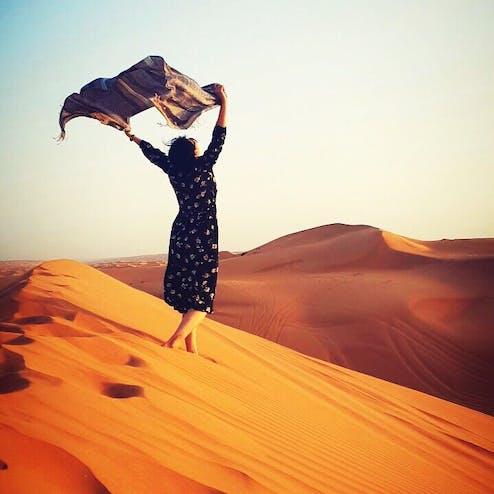 ワヒバ砂漠