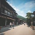 奈良井宿。  週末でも混み合っている訳ではないので まったりと過ごせます。