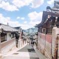 ソウル  北村韓屋村  素敵な街並みだけど、暑さとアップダウンが辛い💦