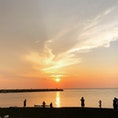 三戸浜キャンプ✨ 夕日も星もキレイなフリーキャンプ場 神奈川・1807