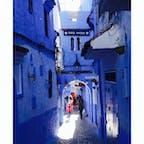 モロッコ🇲🇦 青い街は本当に青かった!