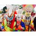 🇹🇭タイ ルーイ県 ピーターコーン祭り、精霊のパレード。