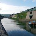 夏の小樽運河。