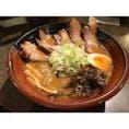 #札幌ラーメン共和国 #吉川商店 #行列 #焙煎ごまみそ炙りとろ旨チャーシュー麺 #こってり