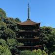 山口県 瑠璃光寺の五重の塔です