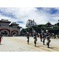 台湾の忠烈祠 衛兵交代式 一糸乱れぬ衛兵の行進が痺れます!