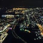 横浜ランドマークタワーで撮りました