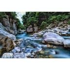 石川県の手取渓谷