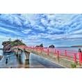 新潟県の弁天岩