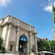 🇺🇸U.S.A./NYC/自然史博物館  ダコタハウスから歩いてすぐ! 映画「ナイトミュージアム」の舞台になった博物館です。 入場料は2,500円くらい。こちらもCity Passや3C ticketを持っていると優先入場できます。  とにかく大きいので、時間を区切って回ることをオススメします。(楽しいので気付けば2時間とか平気で経ってる)  そして映画を見てから行くとより楽しめます。