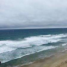 伊豆下田の白浜海岸です
