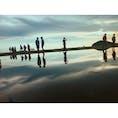 香川 父母ヶ浜 日本のウユニ塩湖 夕日は特に綺麗でおススメです✨