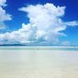 綺麗な海、青空🏝☀️ 竹富島コンドイビーチ🏖 お気に入りの場所🛩