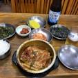 ソウル 南大門で太刀魚の辛煮🌶