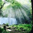 ♦︎奥入瀬渓流(青森県) 銚子大滝×木漏れ日がとても美しかったです!