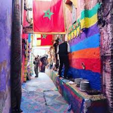 モロッコ、フェス迷宮都市で迷子観光🎶