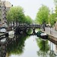 オランダ アムステルダム 運河の街