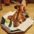 金沢駅近くのイオン内もりもり寿司さん🍣ハタハタ揚💕絶品です!
