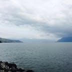 スイスのレマン湖