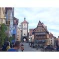 Rothenburg ob der Tauber 🇩🇪 憧れのローテンブルクに1泊!絵本の中に迷い込んだかのように素敵な町並みでした!また行きたい!!