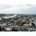 Köln 🇩🇪 ゴシック様式の外観も内観も迫力ある大聖堂では、階段を上ると街が一望できます