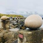 小さな港でお気に入りの卵を見つけられます🐣 アイスランド djupivogur