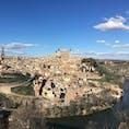 Spain,Toledo 「もしスペインに一日しかいないなら迷わずトレドに行け」と言われているそうです。お天気にも恵まれました☀️