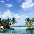 ベトナム・ダナンで撮った1枚。空と海の青さが完璧でした🏝✨ また行きたいな〜♬ #ダナン