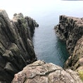 東尋坊 足はすくみますが、不思議な岩のつくりやサンセットも見られ、おすすめです