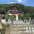 千葉県館山市の大福寺(崖観音)です。本堂からは館山湾が一望できます。