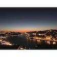 ポルトガルのポルト。夕日が落ちる景色がとても綺麗。