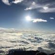 富士山頂からの絶景🗻