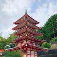 台風の中浅間山神社⛩ 御朱印もらえず。。。