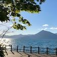 支笏湖畔 最高の天気
